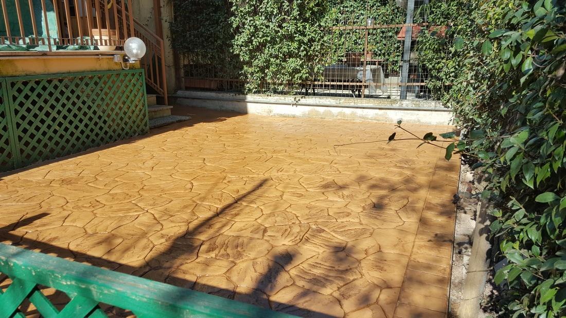 Cemento stampato roma cemento stampato pavimenti esterni pavimenti